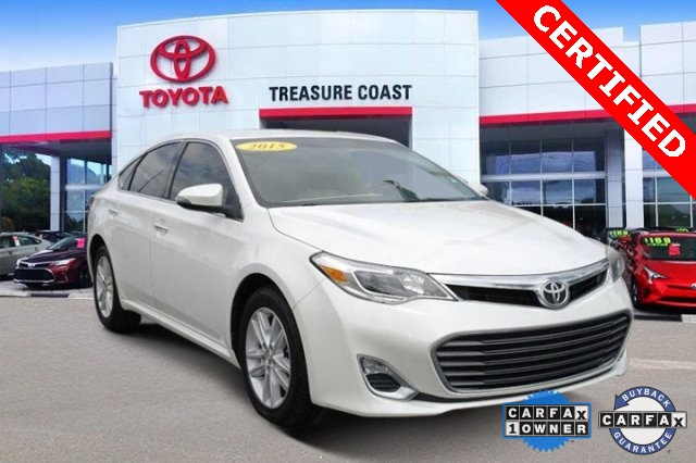 Certified Pre-Owned 2015 Toyota Avalon XLS